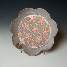 Grace Tessein/Dennis Ritter, Medium Plate, earthenware