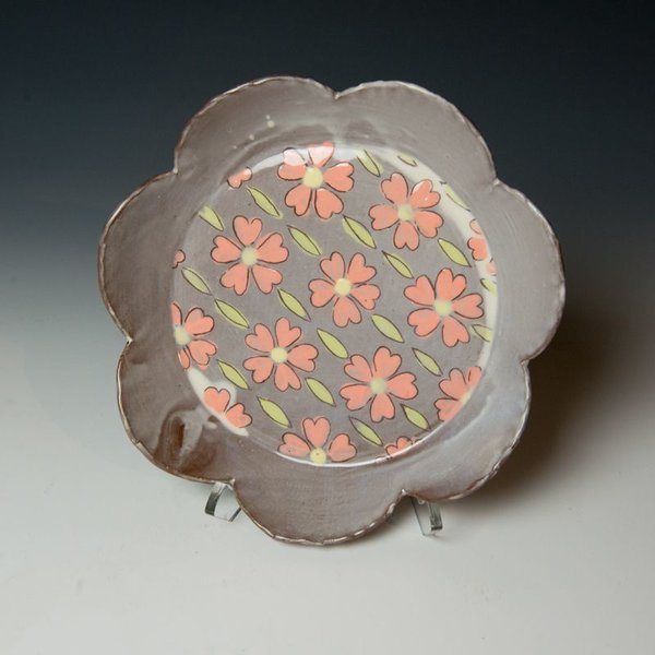 The Southern Table Grace Tessein/Dennis Ritter, Medium Plate, earthenware
