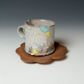 The Southern Table Grace Tessein/Dennis Ritter, Cup & Saucer, earthenware