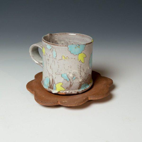 Grace Tessein/Dennis Ritter, Cup & Saucer, earthenware
