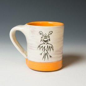 "Erik Haagensen Erik Haagensen, Coffee Mug, earthenware, 3.25 x 4.75 x 3.75"""