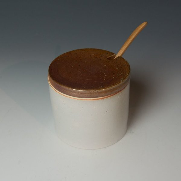"""Nancy Green Nancy Green, Honey Pot , 4.75 x 4.25"""" dia"""