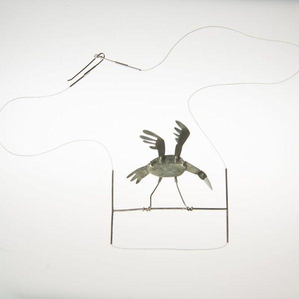 Gabrielle Gould Gabrielle Gould, Wood Stork Necklace, ss