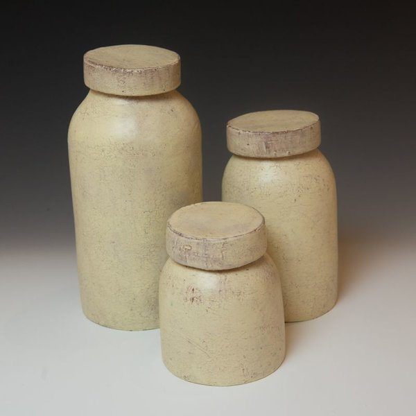 Joe Pintz Joe Pintz, Mason Jar Set, handbuilt earthenware