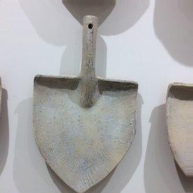 Joe Pintz Joe Pintz, Shovel Plate, handbuilt earthenware