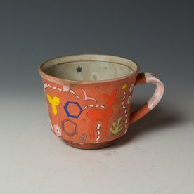 """Masa Sasaki Masa Sasaki, Mug, chocolate clay, glaze, 3.25 x 5 x 4"""""""