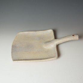 "Joe Pintz Joe Pintz, Shovel Plate, handbuilt earthenware, 15.75 x 9.75 x 3"""