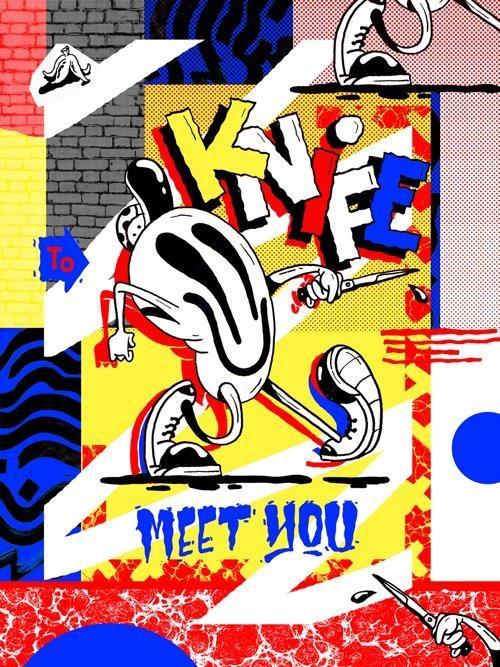 Sheryo Sheryo Knife To Meet You Print