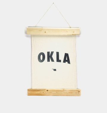 Shop Good: Handmade OKLA Wall Hanging