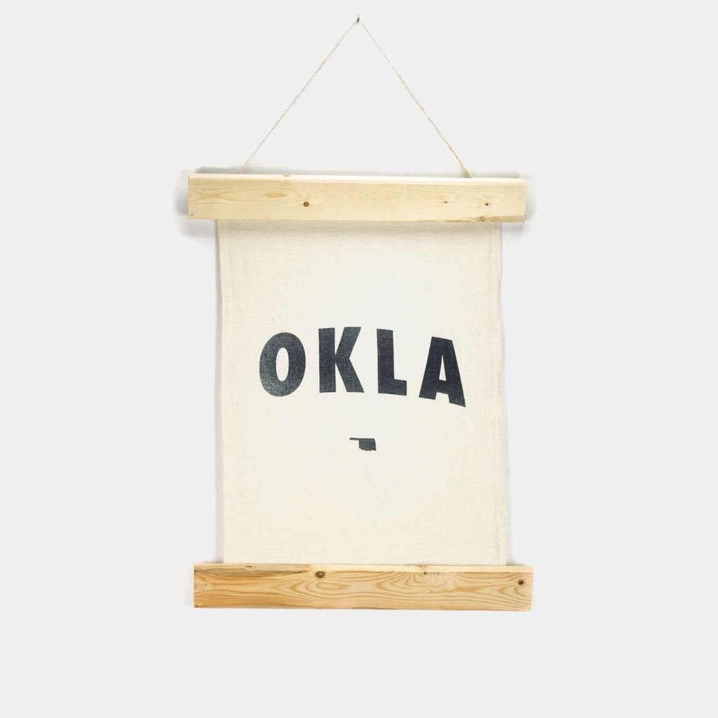 Shop Good: Handmade OKLA Wall Hanging