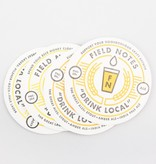 Field Notes Drink Local Coasters - Set of 4