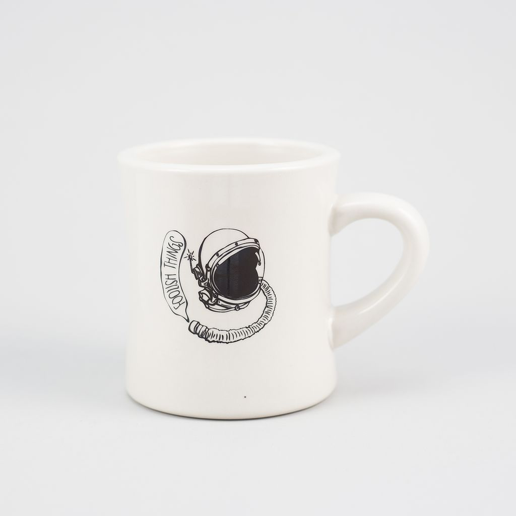 Foolish Things Coffee Co Mad Hatter Coffee Mug - The Astronaut