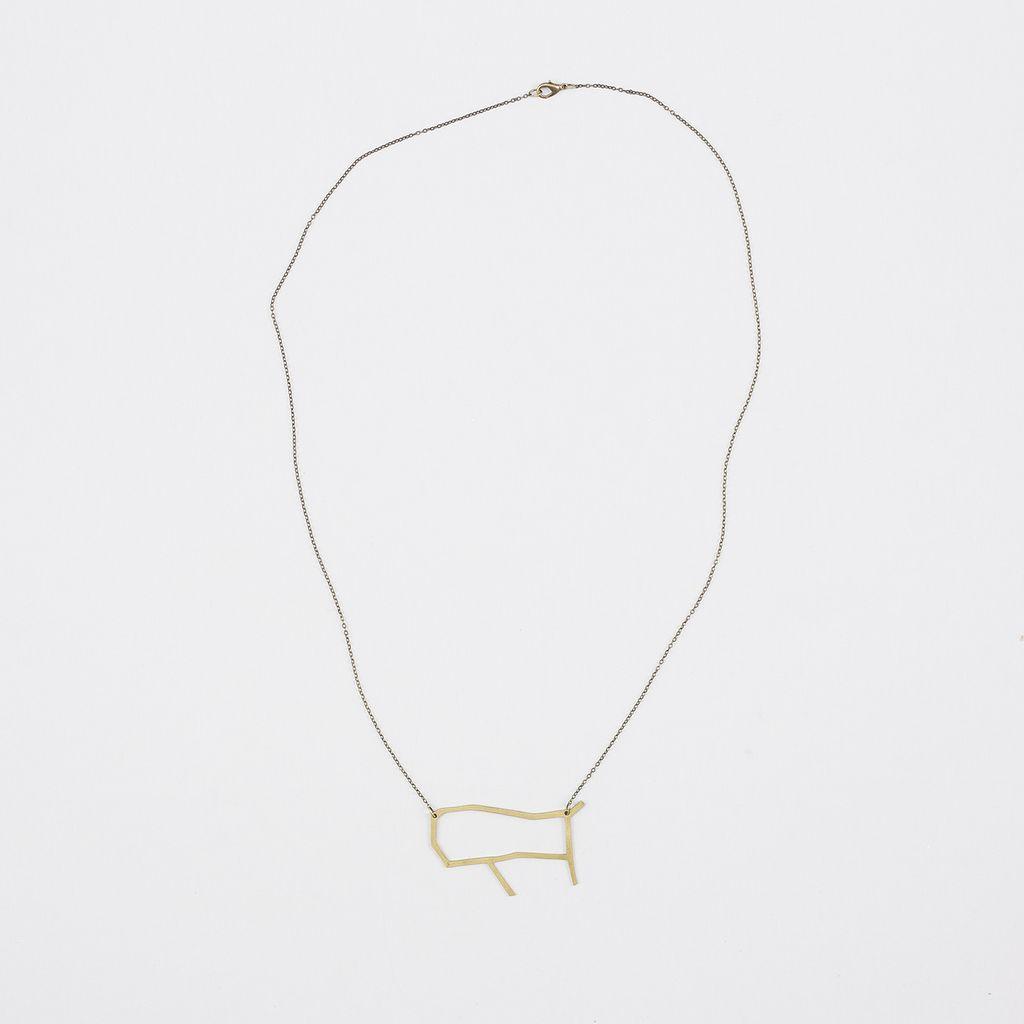 Tiny Art Shop Zodiac Necklace - Gemini