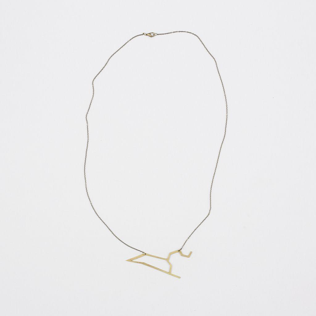 Tiny Art Shop Zodiac Necklace - Leo