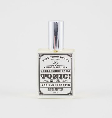 West Third Brand Smell Good Daily Tonic, Vanille de Santos<br />