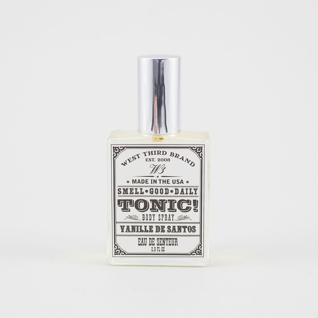 West Third Brand Smell Good Daily Tonic, Vanille de Santos<br />Smell Good Daily Tonic - Vanille de Santos