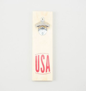 Shop Good: Handmade USA Bottle Opener - Natural