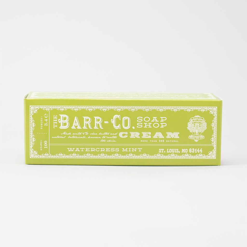Barr-Co Hand & Body Cream - Wintercress Mint
