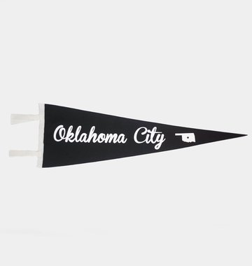 Oxford Pennant Oklahoma City Pennant Flag