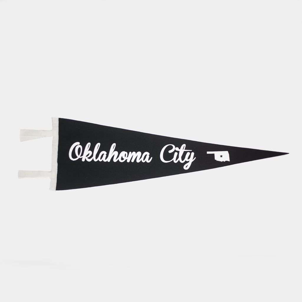 Oxford Pennant Oklahoma City Pennant Flag