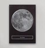 Hammerpress La Luna Postcard