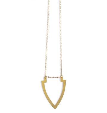 Mata Traders Arrowhead Necklace