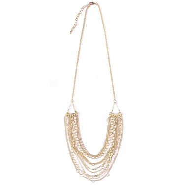 Mata Traders Layered Chain Necklace
