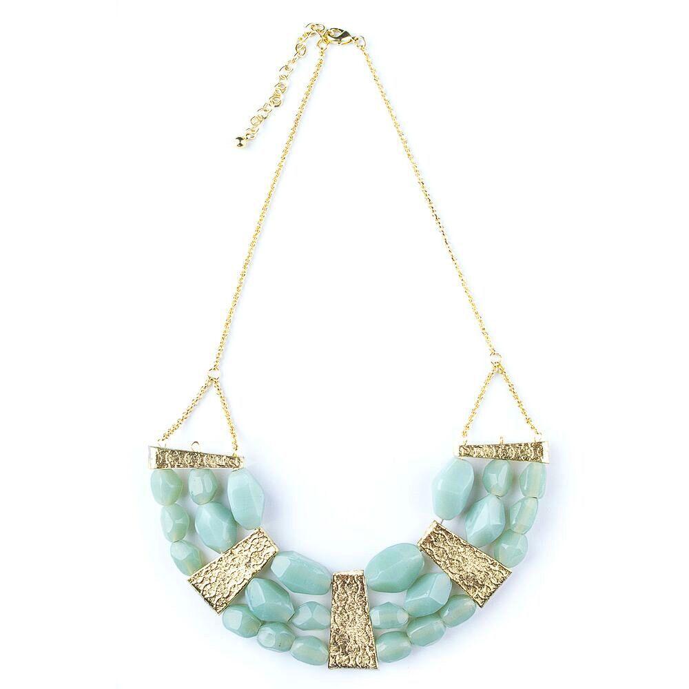 Mata Traders Cut Gem Necklace