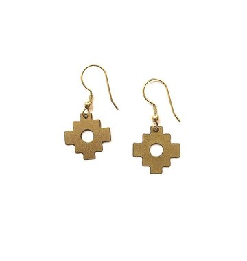 Mata Traders Inca Cross Earrings