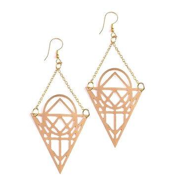 Mata Traders Moon Phase Earrings