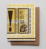 Hammerpress Hey Sexy Tiger Blank Greeting Card