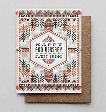 Hammerpress Anniversary Sweet Thing Blank Greeting Card