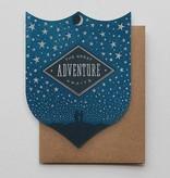 Hammerpress Great Adventure Badge Blank Greeting Card