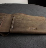 Kiko Leather Handcrafted Leather Bifold Wallet - Buck Brown