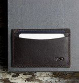 Kiko Leather Handcrafted Leather Card Case - Brown