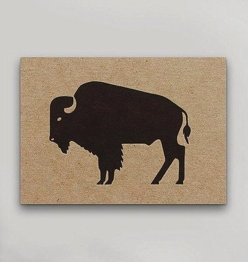 Hammerpress Bison Postcard