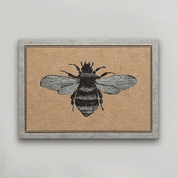 Hammerpress Bee Postcard