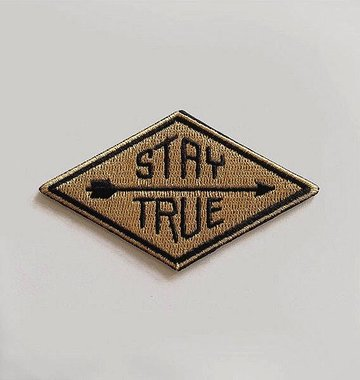Hammerpress Stay True Iron-On Patch