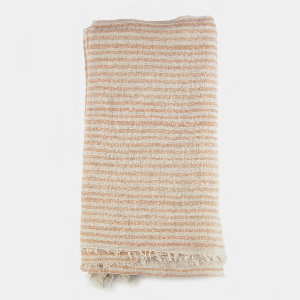 Sseko Designs Betty Scarf - Peach