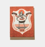 Hammerpress Most Loving Mom Blank Greeting Card