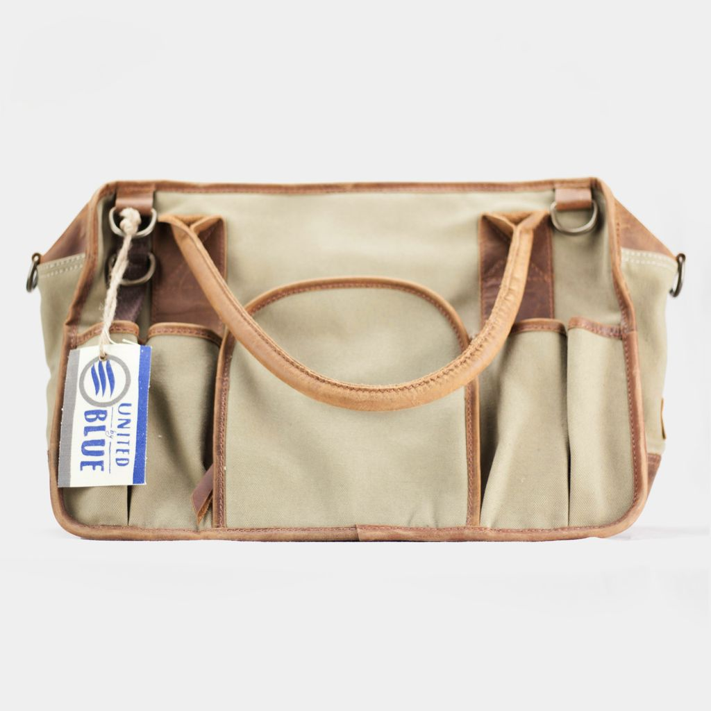 United By Blue Sutter's Mill Canvas Tool Bag