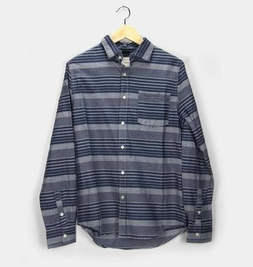 Threads 4 Thought Chambray Stripe Buttondown