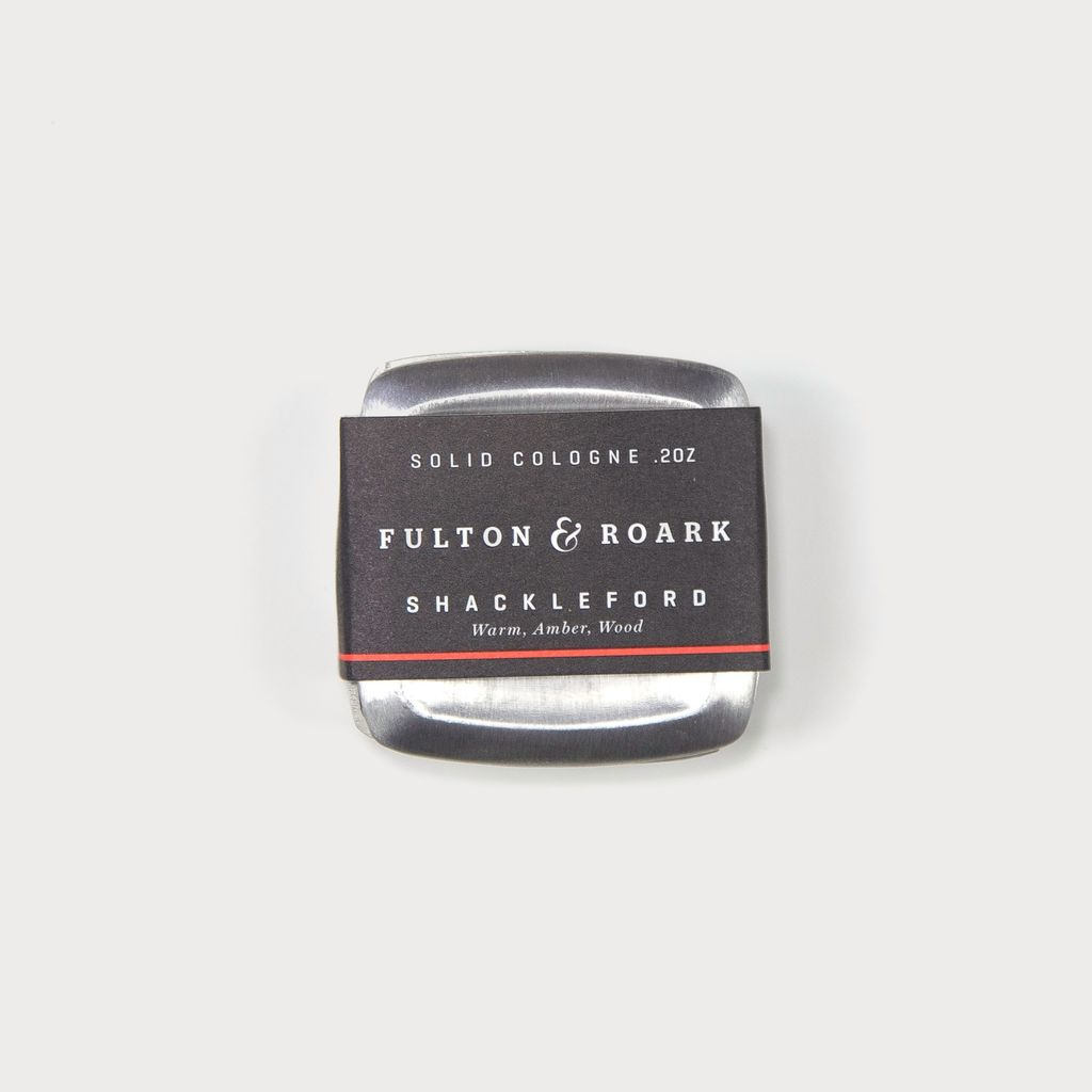 Fulton and Roark Shackleford - Solid Cologne