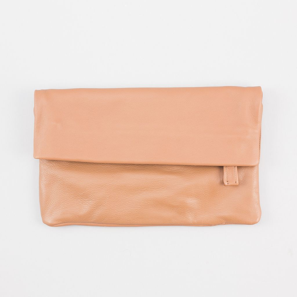 Sseko Designs Convertible Crossbody Bag - Honey Brown Leather