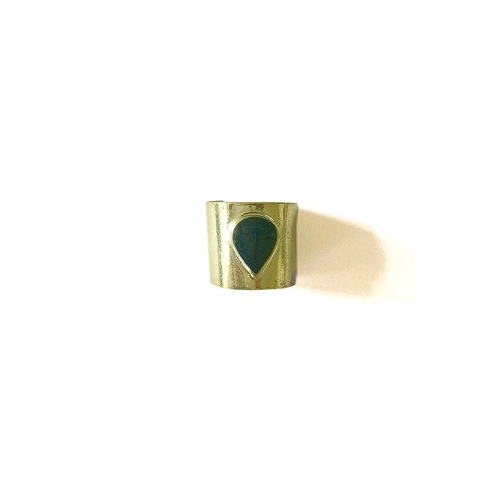 Mata Traders Tear Drop Cuff Ring