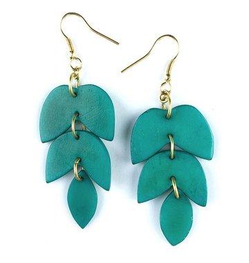 Mata Traders Layered Lotus Earrings