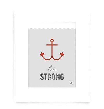 Love Well Handmade Be Strong Art Print