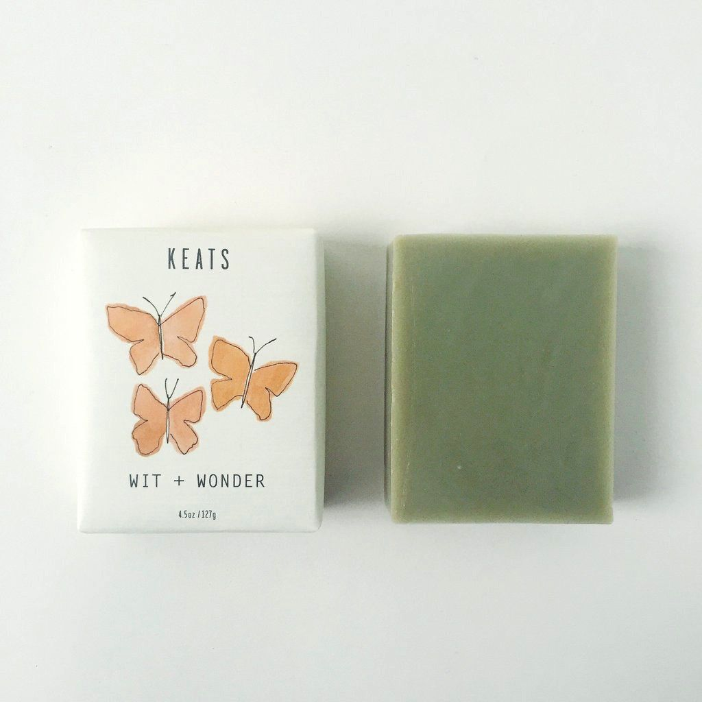 Keats Wit + Wonder Soap Bar - Rosemary & French Green Clay