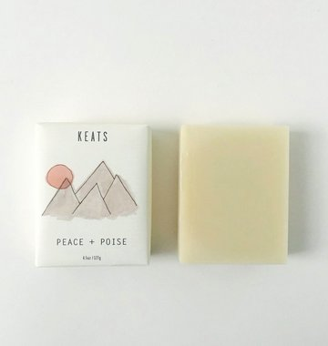 Keats Peace + Poise Soap Bar - Lavender & Ylang Ylang