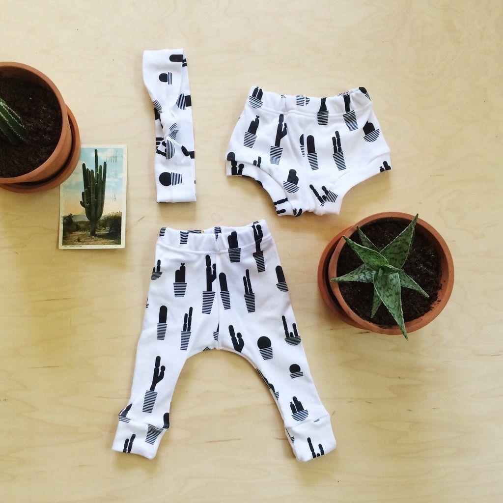 Love Well Handmade Cacti Love Leggings